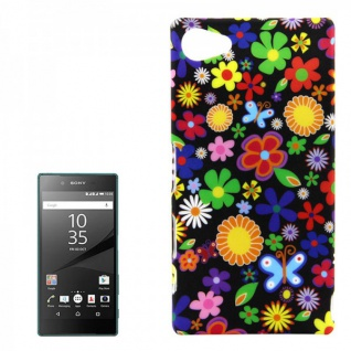 Hardcase Muster 35 Hülle für Sony Xperia Z5 Compact (Mini) 4.6 Case Cover Tasche