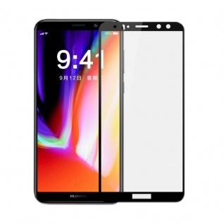 Premium 0, 3 mm gebogenes H9 Glas Schwarz Folie für Huawei Mate 10 Lite Schutz