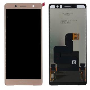 Sony Display LCD Komplett für Xperia XZ2 Compact H8314 Reparatur Pink Ersatz Neu