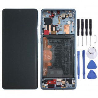 Huawei Display LCD Rahmen für P30 Pro Service 02352PGH Breathing Crystal Pack