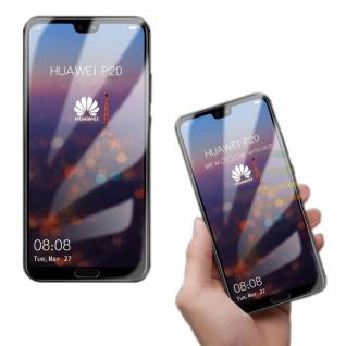 4D Premium 0, 3 H9 Hart Glas Transparent Curved für Samsung Galaxy A6 Plus 2018