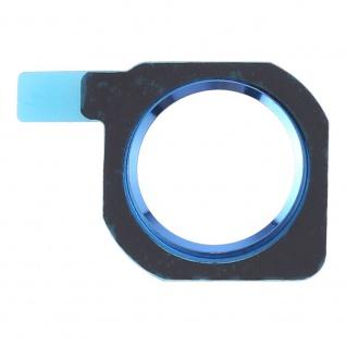 Home Button Protection Ring für Huawei P20 Lite Ersatzteil Blau Knopf Schutz Neu