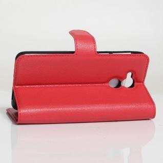 Tasche Wallet Premium Rot für Huawei Honor 6C Hülle Case Cover Etui Schutz Neu - Vorschau 5