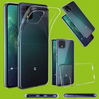 Für Google Pixel 4 / Pixel 4 XL Tasche Etuis Silikon Hülle H9 Hart Glas Schutz - Vorschau 4