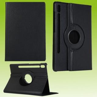 Für Samsung Galaxy Tab S7 Plus / S7 FE Tablet Tasche Hülle Case Etuis Schutz Schwarz Neu
