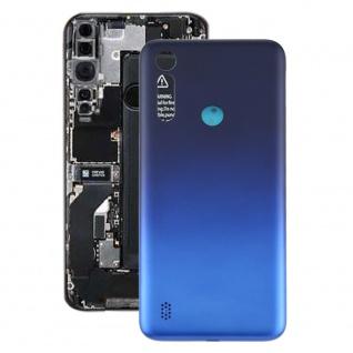 Akkudeckel Akku Deckel Batterie Cover für Motorola Moto G8 Power Lite Dark Blue
