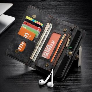 Handy Tasche für Apple iPhone X / XS 10 Geldbeutel Schutz Hülle Etui Black