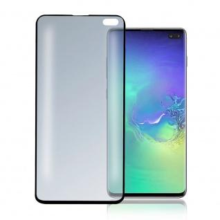 Second Glass UltraSonix Samsung Galaxy S10 Plus G975F Schwarz Schutzglas Folie