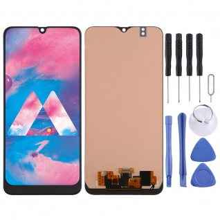 Für Samsung Galaxy M30s M307F Display Full LCD Touch Screen Reparatur Schwarz
