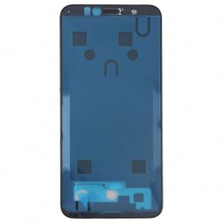 Gehäuse Rahmen Mittelrahmen Deckel für Huawei Y6 2018 Schwarz Reparatur Ersatz - Vorschau 2