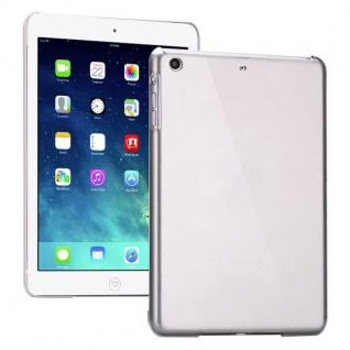 Hardcase Glossy Transparent für Apple iPad Air Case Cover Hülle Schale + Folie