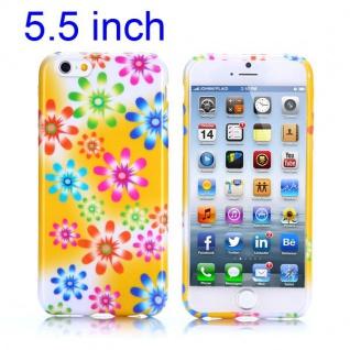 Silikon Case Muster 46 für Apple iPhone 6 Plus 5.5 Hülle Cover Schutz Zubehör
