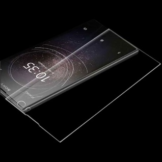 Für Sony Xperia XZ3 4D 0, 3 mm H9 Full Curved Display Hart Glas Transparent Neu