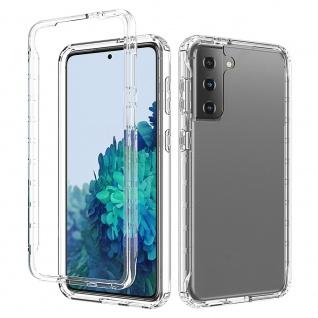 Für Samsung Galaxy S21 Plus Hybrid Outdoor Transparent Handy Tasche Etuis Hülle