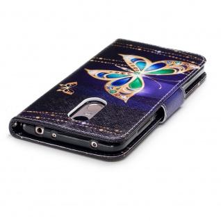 Für Huawei Y6 2019 Kunstleder Tasche Wallet Motiv 32 Schutz Hülle Etuis Cover - Vorschau 4