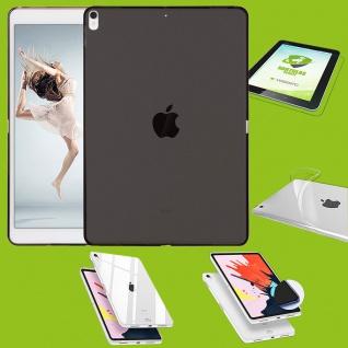 Für Apple iPad Pro 12.9 Zoll 2018 Schwarz Hülle Tasche Cover + H9 Hart Glas Etui