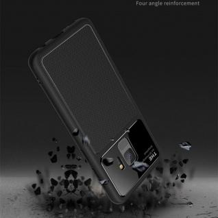 Design Cover Schwarz für Huawei P20 TPU Silikon Schutz Tasche Hülle Case Etui - Vorschau 2
