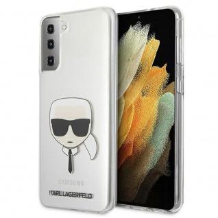 Karl Lagerfeld Samsung Galaxy S21 G991B Transparent Hard Case Cover Hülle Etui