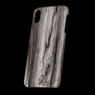 Für Apple iPhone XS MAX 6.5 Zoll Holz Wald Muster 6 Tasche Hülle Hard Cover Neu