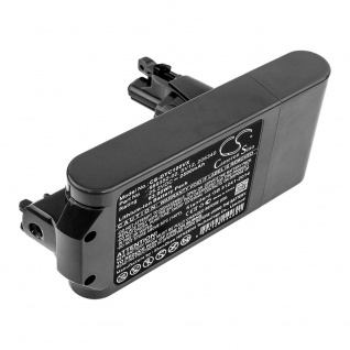 Batterie 25.2V 2.5AH Li-ionen für Dyson Cyclone V10 Adapter Schwarz Charging