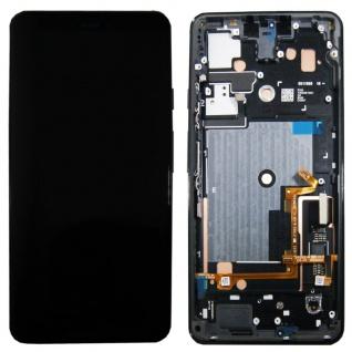 Für Google Pixel 3 XL Display Full LCD Touch Ersatzteil mit Rahmen Schwarz Neu
