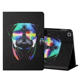Für Samsung Galaxy Tab A 10.1 2019 Motiv 5 Tablet Tasche Kunst Leder Hülle Etuis