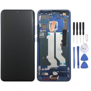 Für ZTE Axon 10 Pro OLED Display LCD Touch mit Rahmen Ersatz Reparatur Blau Neu