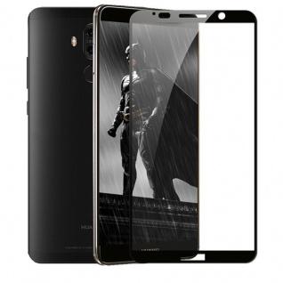 3D Premium 0, 3 mm gebogenes H9 Hartglas Schwarz Folie für Huawei Mate 10 Pro Neu