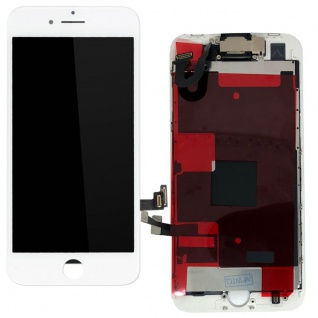 Für Apple iPhone 8 Plus All in One Display LCD Komplett Einheit Touch Weiß Neu