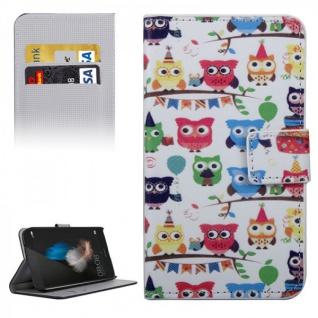 Schutzhülle Muster 32 für Huawei G8 5.5 Zoll Bookcover Tasche Case Hülle Wallet