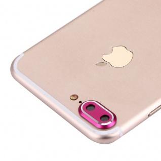 Kameraschutz für Apple iPhone 7 Plus Kamera Schutz Kameraring Protector Pink