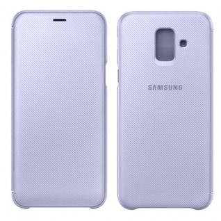 Samsung Wallet Cover Hülle EF-WA600CVEGWW Galaxy A6 2018 A600F Schutzhülle