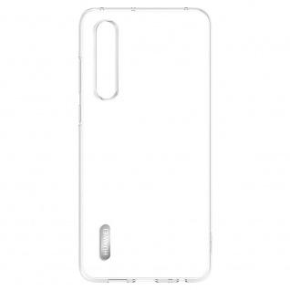 Plastic Cover Transparent für Huawei P30 Original Tasche Schale Abdeckung Etuis