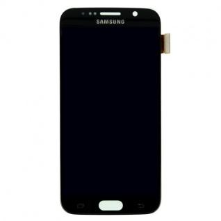 Display LCD Komplettset Touchscreen Schwarz für Samsung Galaxy S6 G920 G920F Neu - Vorschau 2