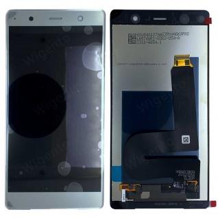 Sony Display LCD für 1310-6654 Xperia XZ2 Premium Reparatur Ersatzteil Silber
