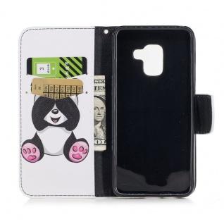 Tasche Wallet Premium Motiv 21 für Samsung Galaxy A8 2018 A530F Hülle Case Etui - Vorschau 5