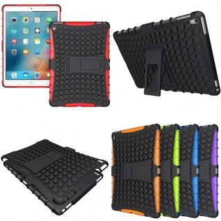 Hybrid Outdoor Schutzhülle Cover Rot für iPad Pro 9.7 Zoll Tasche Case Hülle Neu