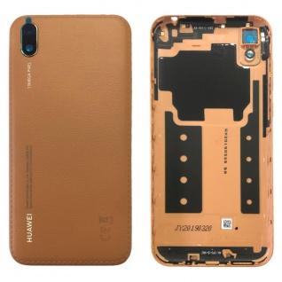 Huawei Akkudeckel Akku Deckel Batterie Cover Braun für Y5 2019 97070WGL Ersatz