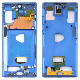 Mittelrahmen Bezel Samsung Galaxy Note 10 Plus 5G 5G SM-N976F Blau Middle Frame