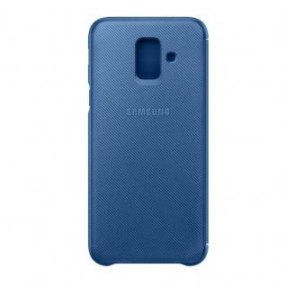 Samsung Wallet Cover Hülle EF-WA600CLEGWW Galaxy A6 2018 A600F Schutzhülle Blau - Vorschau 4