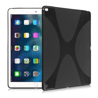 Schutzhülle Silikon XLine Schwarz für New Apple iPad 9.7 2017 Tasche Case Etui