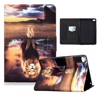 Für Apple iPad Mini 2 / 3 / 4 / 5 Motiv 5 Tablet Tasche Kunst Leder Hülle Etuis
