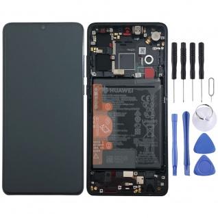 Huawei Display LCD Rahmen für P30 Service 02352NLL Schwarz / Black Batterie Neu