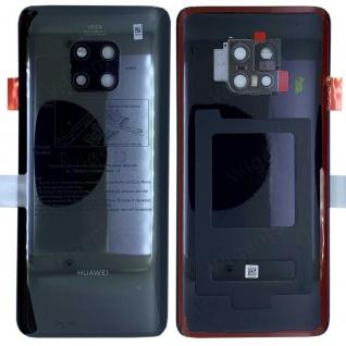 Huawei Akkudeckel Akku Deckel Batterie Cover Schwarz für Mate 20 Pro 02352GDC