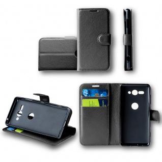 Für Samsung Galaxy A6 A600 2018 Tasche Wallet Premium Schwarz Hülle Case Cover