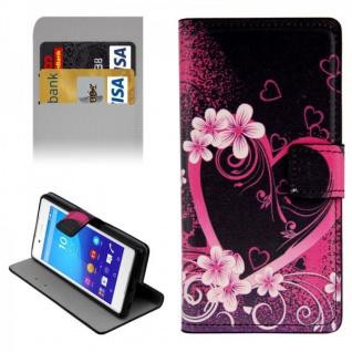 Schutzhülle Muster 17 für Sony Xperia Z3 Plus E6553 Bookcover Tasche Hülle Case