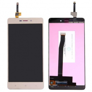 Für Xiaomi Redmi 3 Reparatur Display Full LCD Komplett Einheit Touch Gold Neu