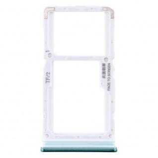 Sim Card Tray für Xiaomi Redmi Note 8 Pro Grün Karten Halter Holder Ersatzteil
