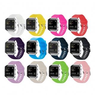 Hochwertiges Kunststoff / Silikon Uhr Armband für Fitbit Blaze Watch Zubehör Neu