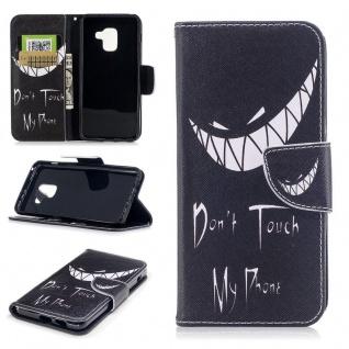 Tasche Wallet Premium Motiv 23 für Samsung Galaxy A8 2018 A530F Hülle Case Etui